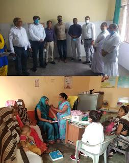 जालौन: गर्भवती की जांच, परिवार नियोजन सेवाएं प्रदान की गई, खुशहाल परिवार दिवस पर परिवार नियोजन के उपाय के बारे में बताया गया