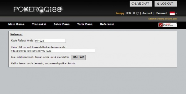 Bonus Referral Poker Online dan Cara Mendapatkannya Info Bonus Referral Poker Online dan Cara Mendapatkannya