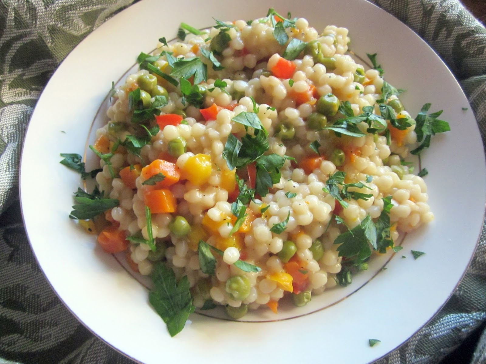 Hungry Couple: Couscous Primavera Salad
