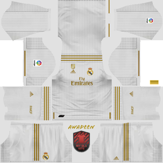 sale retailer 1686a 1bf1a Real Madrid 2019/2020 Kits-Dream League Soccer Kits