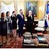 Presidente Danilo Medina juramenta a funcionarios designados mediante decretos 3-20 y 18-20