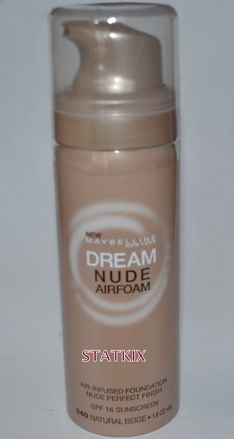 STATKIX - MAYBELLINE DREAM NUDE AIRFOAM FOUNDATION