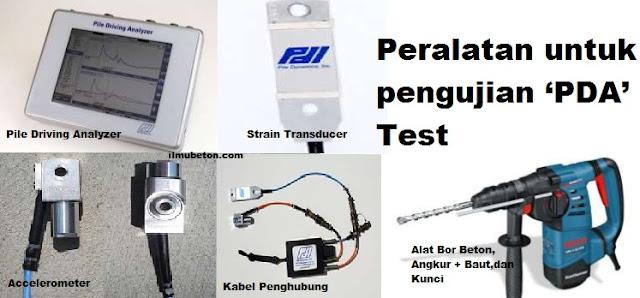 Peralatan Pengujian PDA