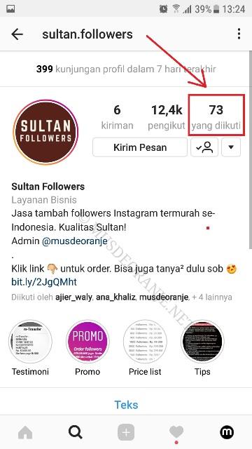 Cara Menambah Followers Instagram Tanpa Menambah Following Gratis