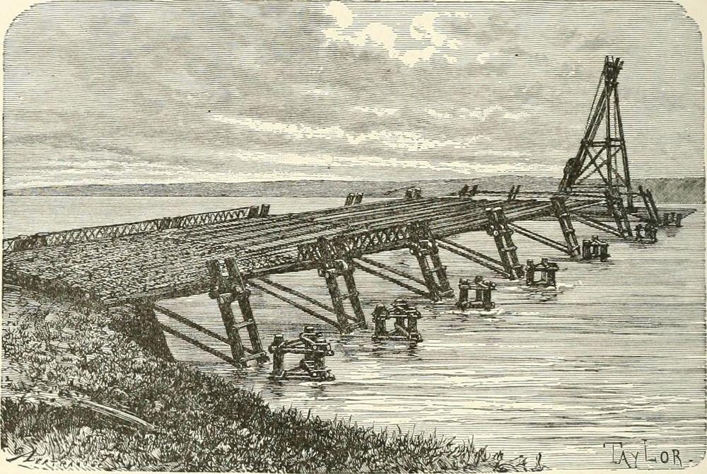 Caesar's Rhine Bridge
