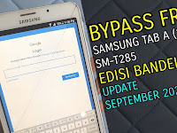 Bypass FRP Google Account Samsung Tab A 2016 T285 | September 2020 Via Rom Combination