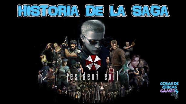Historia de la saga Resident Evil