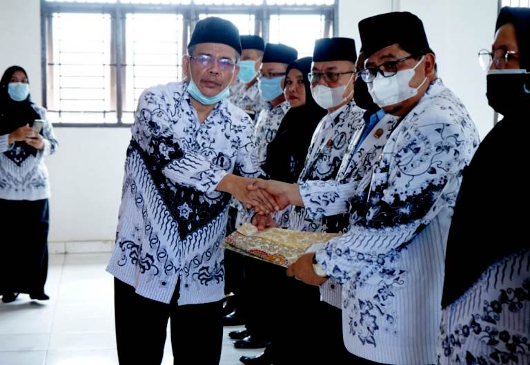 Konkablub PAW PGRI Asahan 2021-2023, Berikut Pesan Bupati