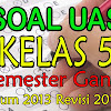 Download Soal UAS Kelas 5 Kurikulum 2013 Revisi 2017