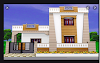 5 Marla Front corner house design in Pakistan