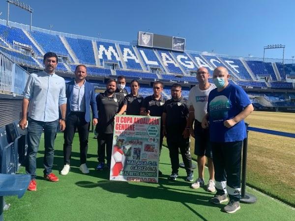 El Málaga CF, en la Copa de Andalucía Genuine