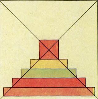 Как начертить лоскутный блок американского квадрата