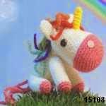 patron gratis unicornio amigurumi, free amigurumi pattern unicorn
