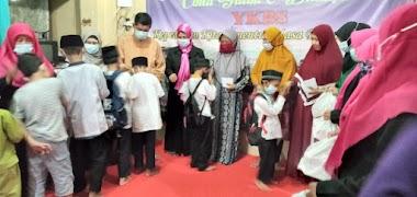Pembelajaran dan Santunan oleh Mahasiswa Prodi Manajemen Dakwah IAI AL-AZIS