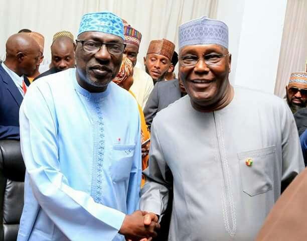 Image result for Makarfi declares presidential bid, battles Atiku for PDP ticket
