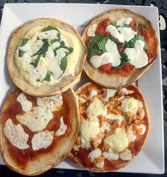 Pizzas on the Barbecue Recipe