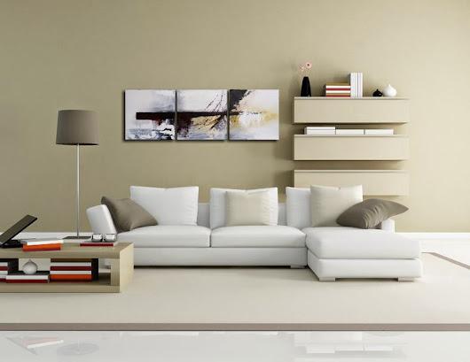 Bilder Acryl Mehrteilig : Mehrteiliges Acrylbild mit Hochhäusern von Antoniya Slavova