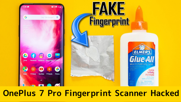 OnePlus 7 Pro Fingerprint Scanner  - FaDnV1559058188 - OnePlus 7 Pro Fingerprint Scanner Hacked In a Minutes