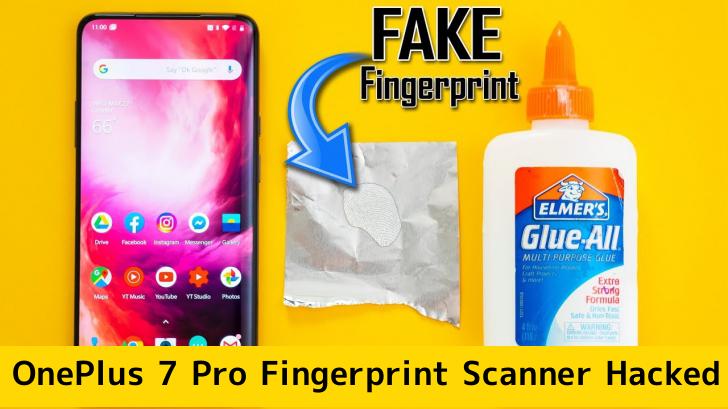 OnePlus 7 Pro Fingerprint Scanner