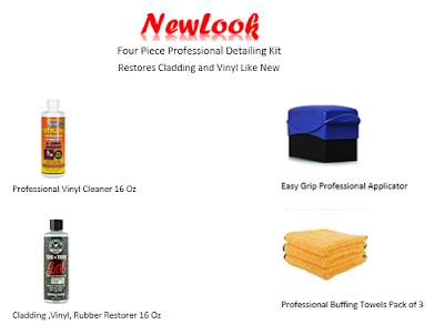 Professional Cladding and Vinyl Restoration Kit