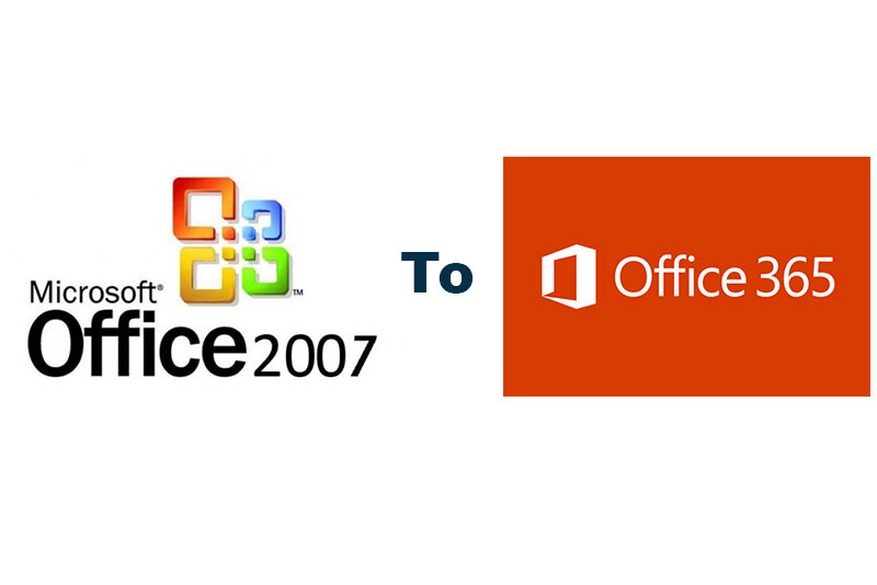 office2007 to office 365