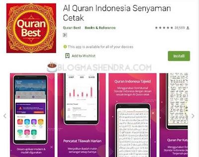 Aplikasi Penunjang Ramadhan