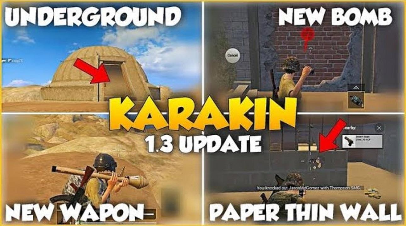 PUBG Mobile 1.3 Karakin Map is coming soon