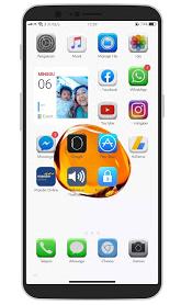 Tema Oppo iOS 14 3D