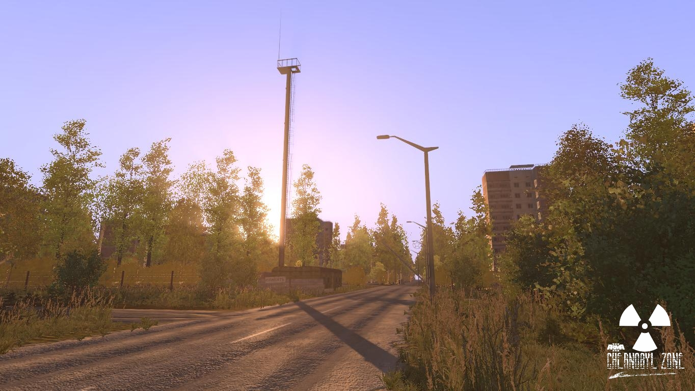 Arma 3 Chernobyl Zone: Hospital and Pripyat Checkpoint