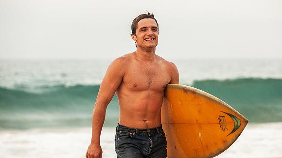 josh hutcherson surfing