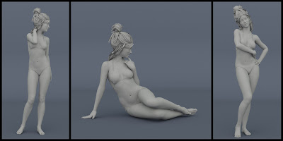 Chichi Poses for Charlotte 8 and Genesis 8 Female