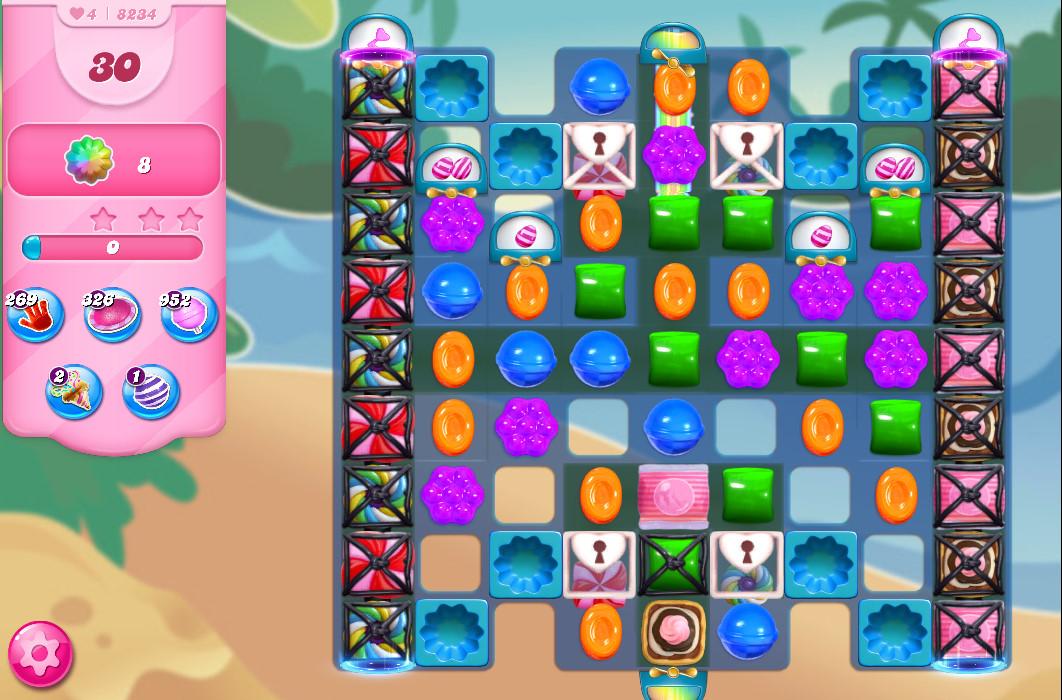 Candy Crush Saga level 8234