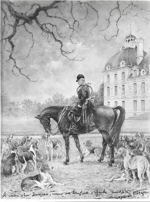 Dédicace de Philippe de Vibraye  à Auguste Bourgeois