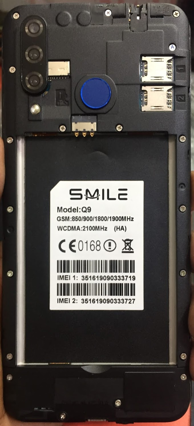 Smile Q9 HA Flash File | Firmware | Stock Rom