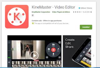 Kine Master video editing app download