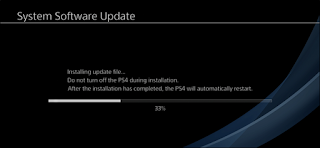 System software Update PlayStation