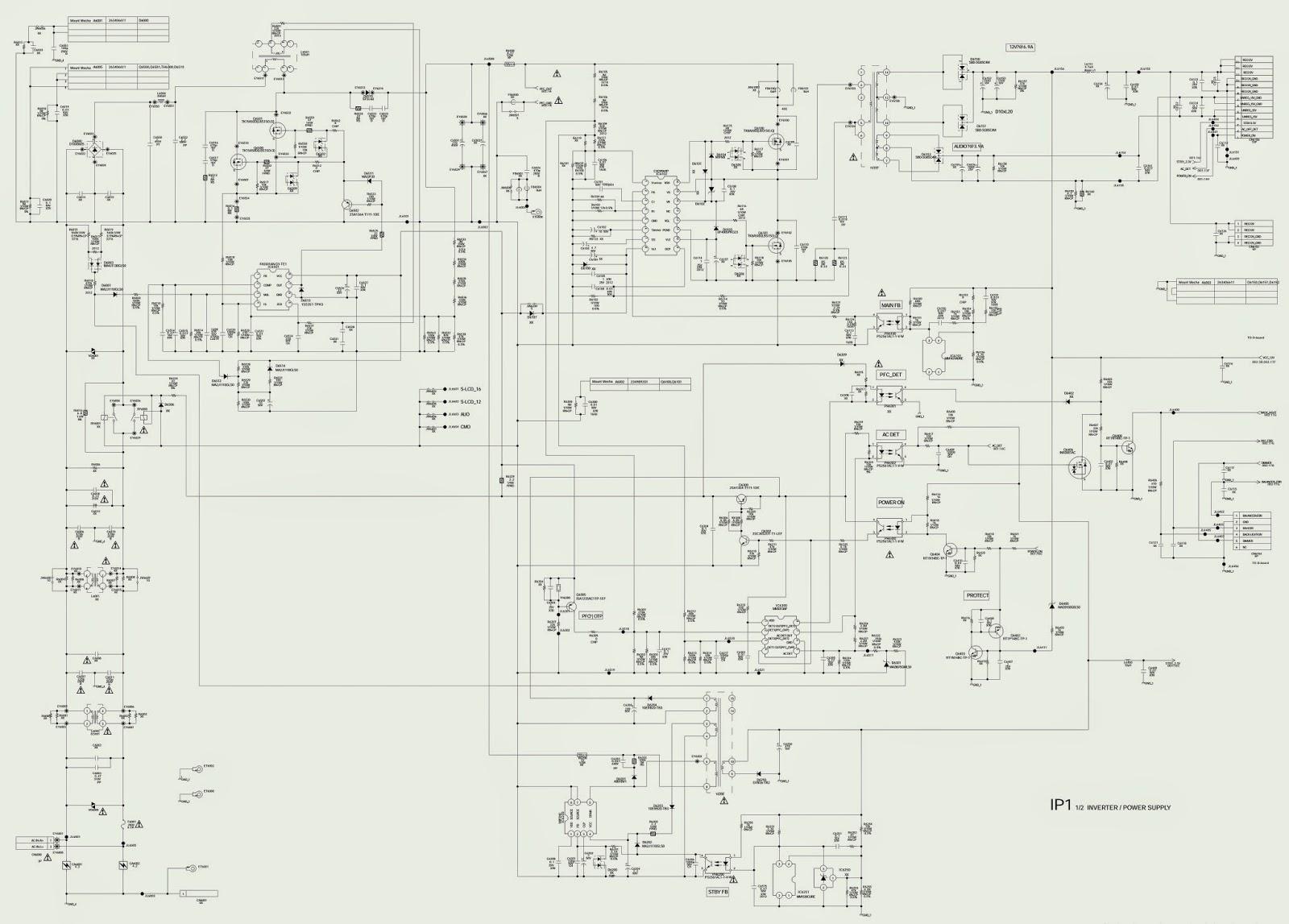 electronic equipment repair centre   sony - kdl-32w5800 - kdl-37w5800 - kdl-40w5800