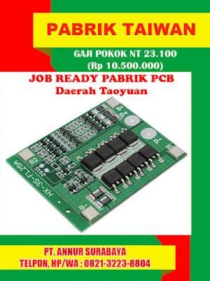 Job, Ready, Pabrik, PCB, Taoyuan, Taiwan