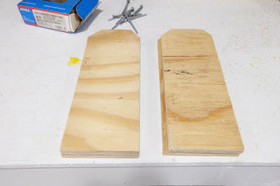 plywood angle cut wood diy project
