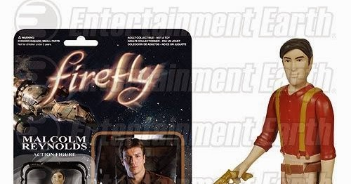 The Blot Says Firefly Reaction Retro Action Figures By