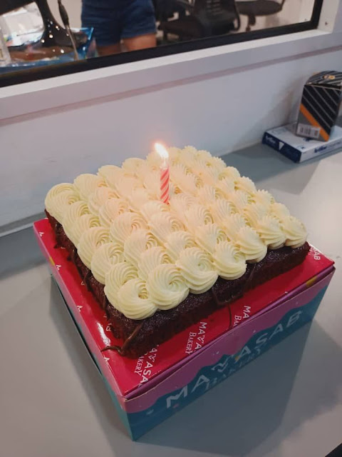 Simple Celebration for My Lockdown Birthday