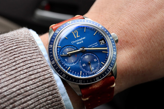 Christopher Ward C65 Trident Diver SH21 Limited Edition