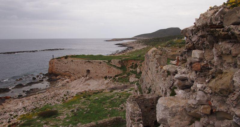 Blick von der Festung Methoni