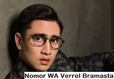 Nomor Whatsapp Verrell Bramasta
