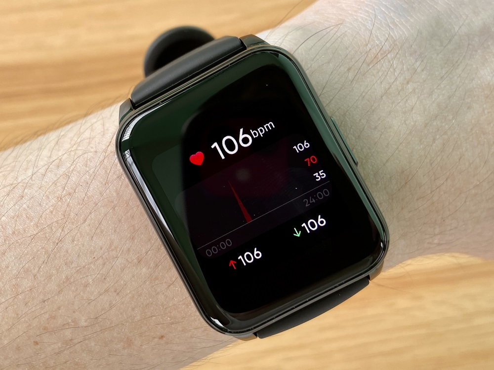 realme Watch 2 Heart Rate Monitor
