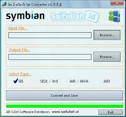 Sis 2 SiSx & Jar Converter v1.7.7.2 Exe