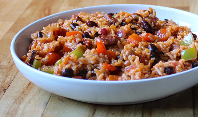 Chilli Rice and Beans