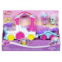 MLP Playskool Friends Pop-Along Set With Pinkie Pie & Minty