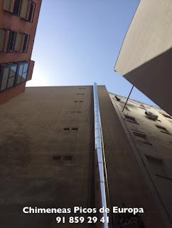 empresa de instalación salidas de humos para cocinas de hostelería en Madrid