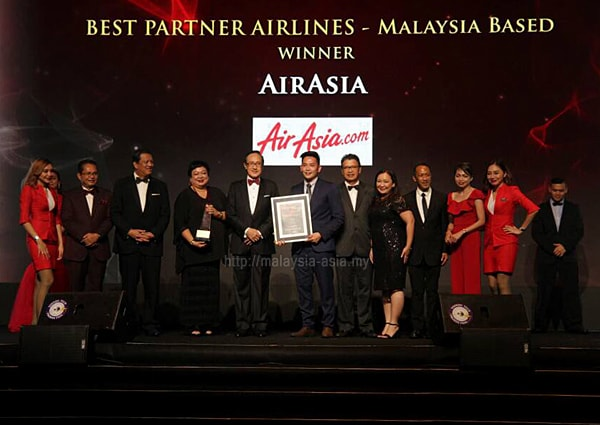 Best Partner Airline Sabah Tourism Awards